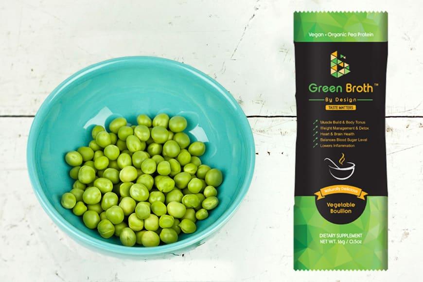 Green Broth, an alternative for the bone broth