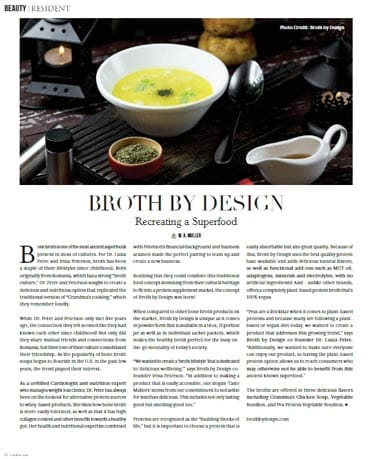 resident magazine broth by design