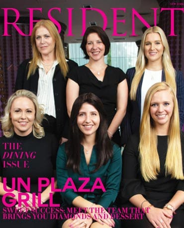 resident magazine cover