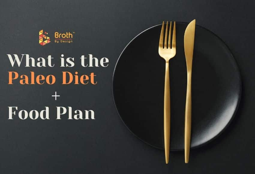 A Plate with a fork and knife, get ready for the paleo diet