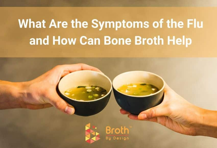 Two Cups of Bone Broth to help you with the flu