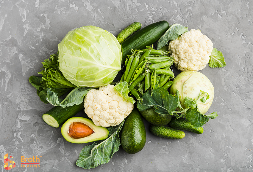 Healthy Vegetarian recipes with fresh produce