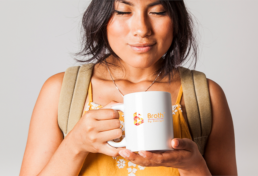 Sipping Bone Broth even in the summer!